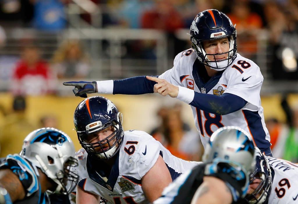 Manning brushes off retirement talk after Super Bowl glory