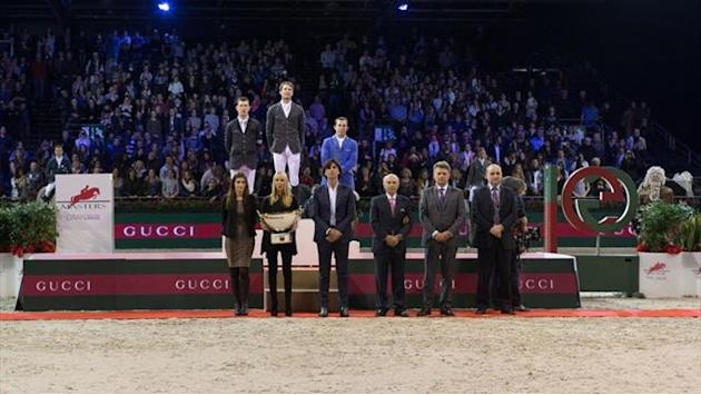 Equestrian - Staut gets better of Brash at Gucci Grand Prix