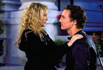 Kate Hudson and Matthew McConaughey in Paramount's How To Lose A Guy In 10 Days