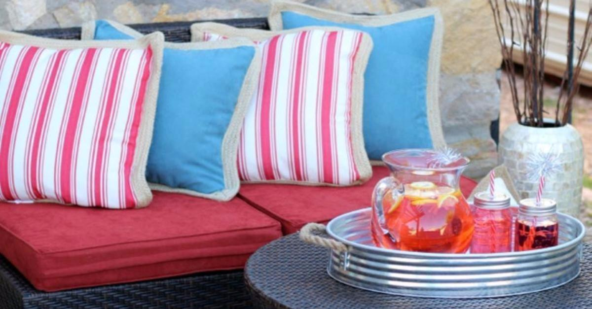 Americana Patio Makeover By Pier 1 Imports