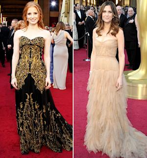 Which Cast Was Best-Dressed at the Oscars: The Help or Bridesmaids?