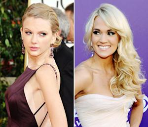 "Taylor Swift and Carrie Underwood ""Hate Each Other,"" Will Avoid Each Other at Grammys"