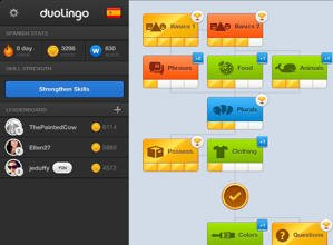 duoling language lesson app