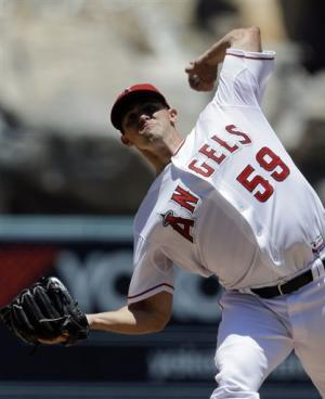 Angels hit 4 HRs in 6-0 win over O's