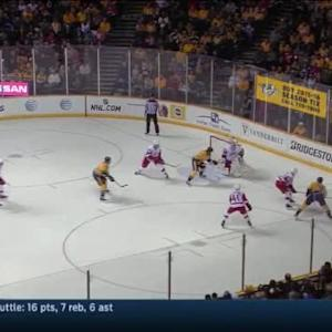 Jonas Gustavsson Save on Filip Forsberg (15:25/3rd)