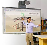 SMART's Board 800i interactive whiteboard system