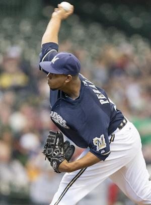 Peralta helps Brewers beat Cards 5-1 and stop skid