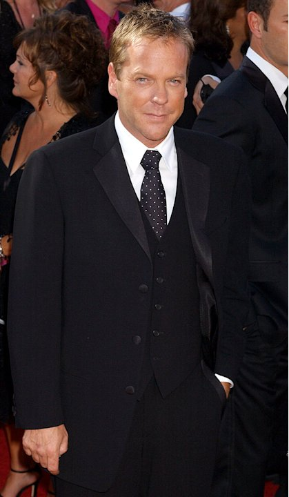 Kiefer Sutherland at The 56th Annual Primetime Emmy Awards.