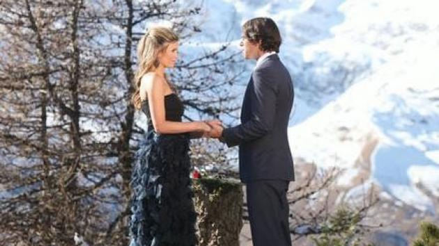 Ben Flajnik and Lindzi Cox on the season finale of 'The Bachelor' on March 12, 2012 -- ABC
