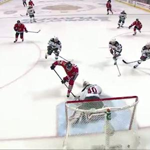 Kruger beats Dubnyk five-hole with backhander