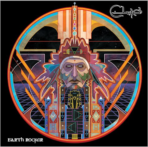 "This CD cover image released by Weathermaker Music shows ""earth Rocker,"" by Clutch. (AP Photo/Weathermaker Music)"