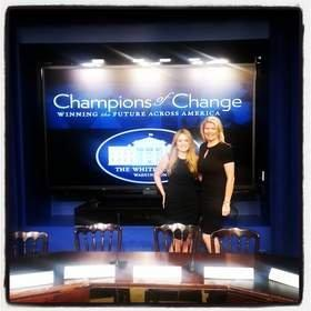 "White House Highlights Marcie Allen Van Mol as a Hurricane Sandy ""Champion of Change"""