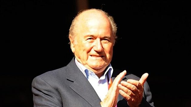 Sepp Blatter's position as FIFA president has been called into question