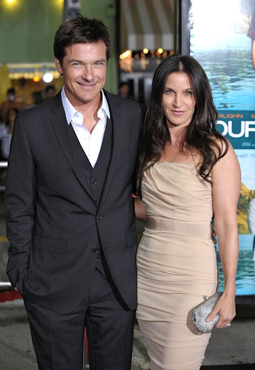 Couples Retreat LA Premiere 2009 Jason Bateman Amanda Anka