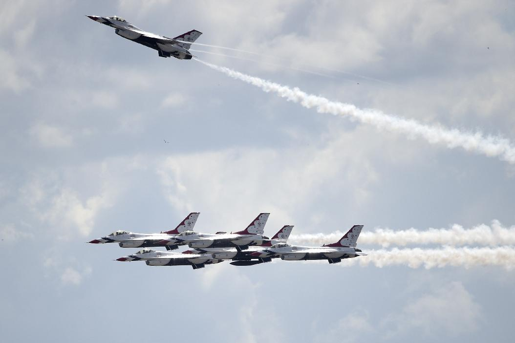 Stressed, shrinking Air Force needs more funding: U.S. officials