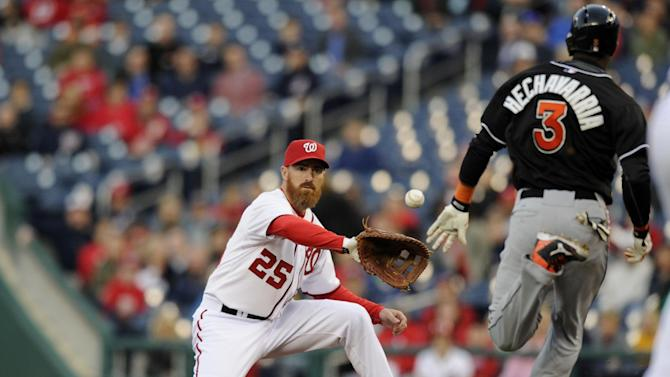 Gio Gonzalez pitches Nationals past Marlins 5-0