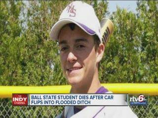 Ball State University student, Blake Taylor, killed in high-water crash in Grant County