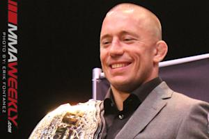 UFC Champ Georges St-Pierre to Shed Light on Fighting Future at Friday Appearance