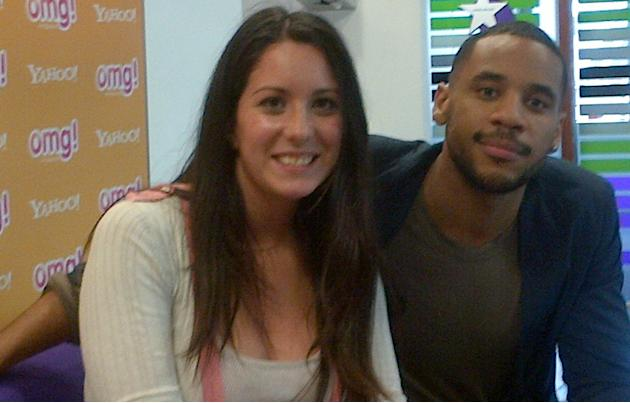 Celebrity photos: The Voice presented, Reggie Yates chatted to omg!'s Rebecca about his pal Danny O'Donoghue.