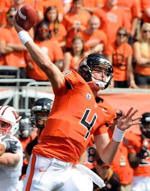Oregon State upsets No. 13 Wisconsin 10-7