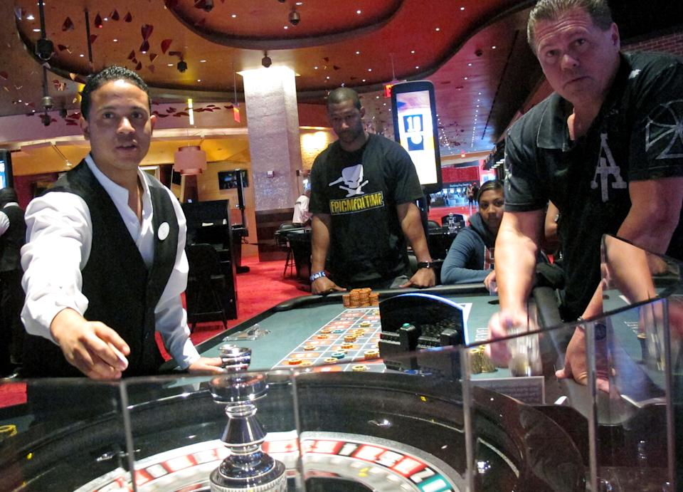 US casino revenue up nearly 5 percent in 2012