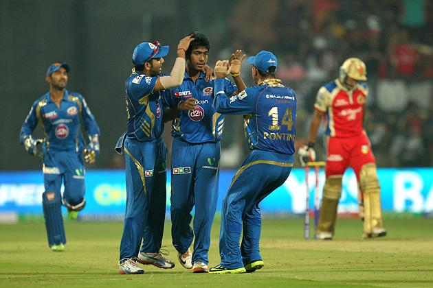 IPL6: Royal Challengers Bangalore vs Mumbai Indians