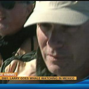 Vintage Himmel: Larry goes whale watching in Mexico (February 23, 2001)