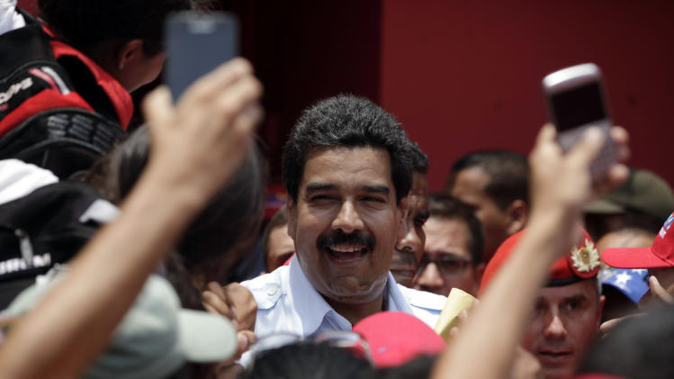 Venezuelan leader says foes sabotaging power grid