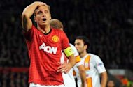 Vidic makes Manchester United return after knee surgery
