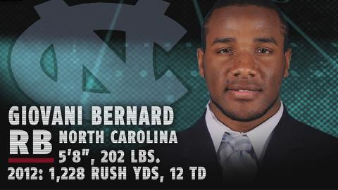 Best of North Carolina's Giovani Bernard