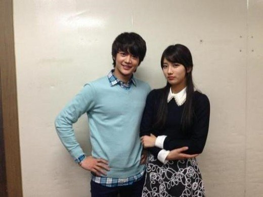 Min Ho &amp; Suzy's new photo revealed