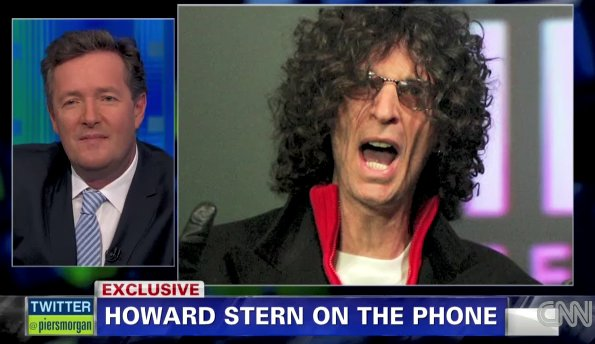 Howard Stern to Piers Morgan: I Won't Convert Viewers Into 'Zombie Sex Fiends' (Video)