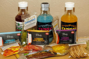 Edible marijuana products