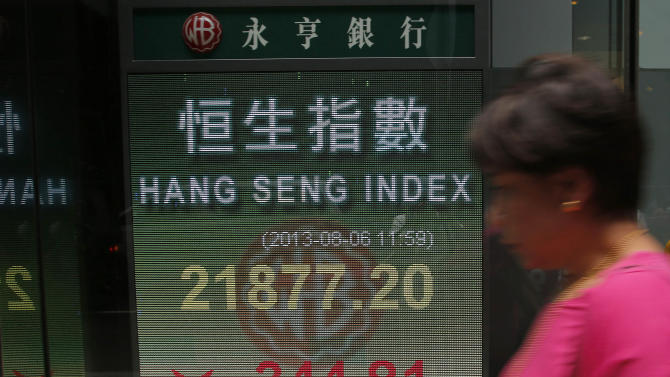 Asia stocks down, Fed official flags stimulus end