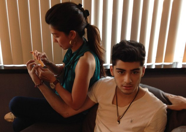 Zayn Malik, manly pampering