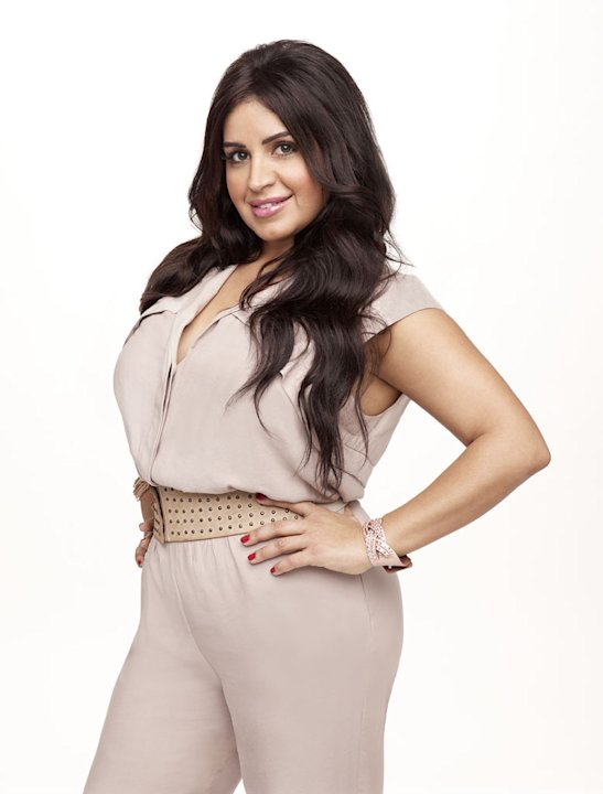 "Mercedes ""MJ"" Javid in ""Shahs of Sunset."""