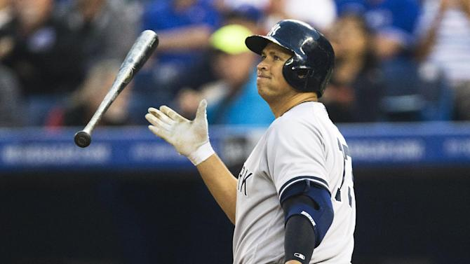 Yanks stumble again in 6-2 loss to Blue Jays