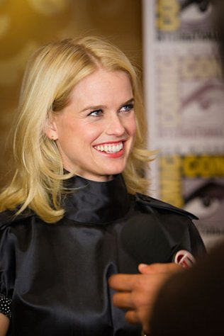 Actress Alice Eve in July 2011.