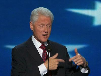 Clinton argues for Obama re-election