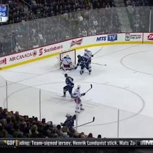 Henrik Lundqvist Save on Michael Frolik (16:57/1st)