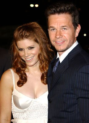 Kate Mara and Mark Wahlberg at the Los Angeles premiere of Paramount Pictures' Shooter