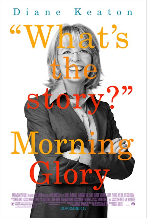 Morning Glory Paramount Pictures 2010 Poster Diane Keaton