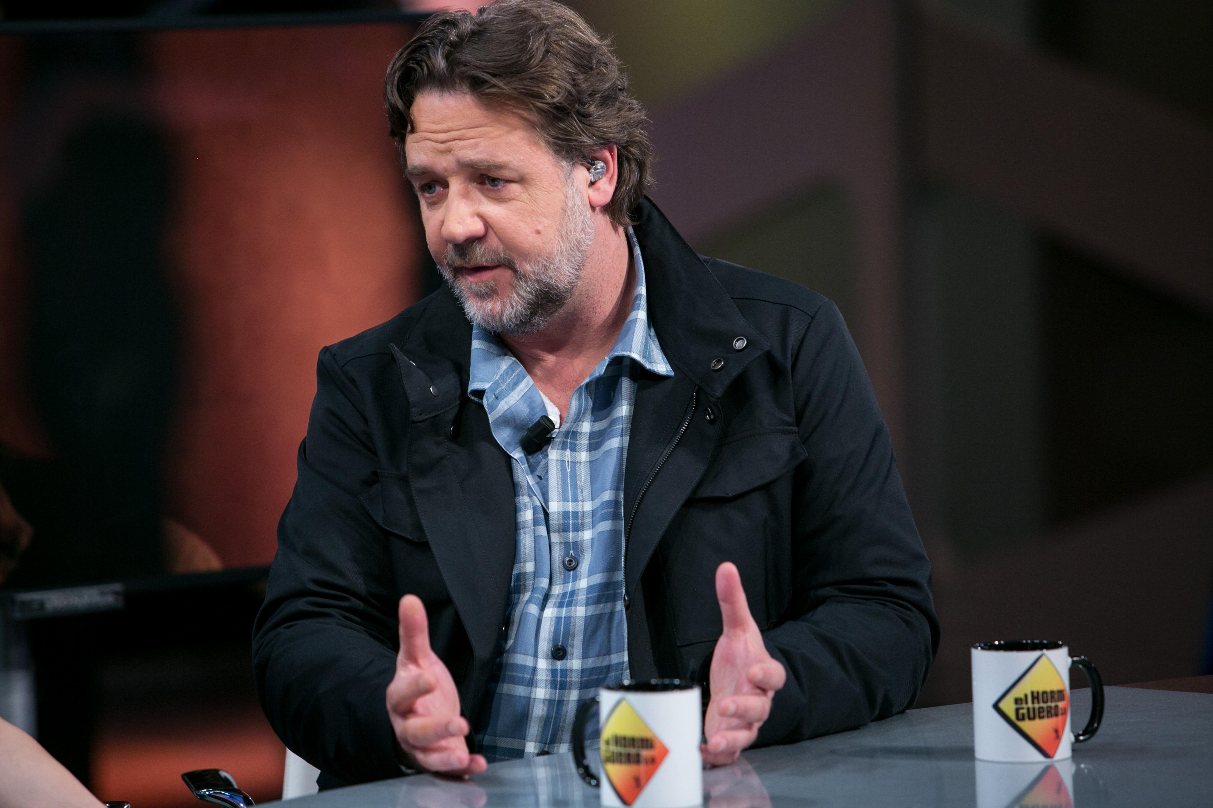 Russell Crowe: I explored Scientology