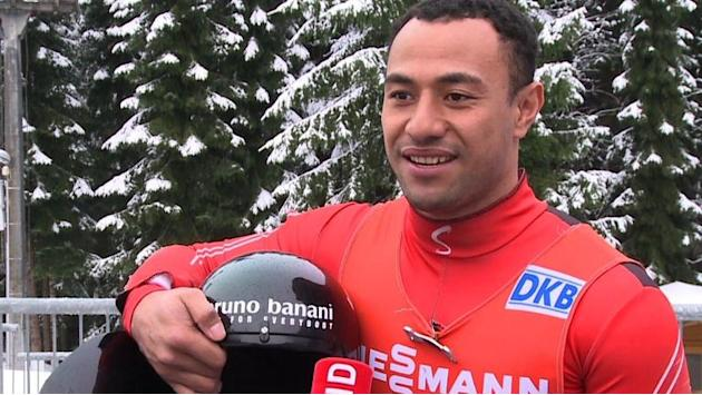 Olympics: Tongan luger swaps South Pacific sun for icy Games