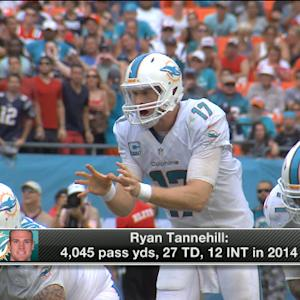 Miami Dolphins working on extension for quarterback Ryan Tannehill