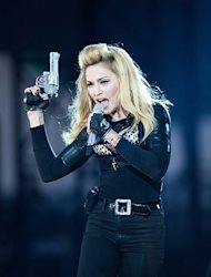 Madonna: Fake Guns, Violence on MDNA Tour Are Symbols