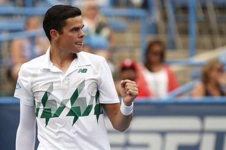 Tennis: Citi Open-Raonic v Johnson