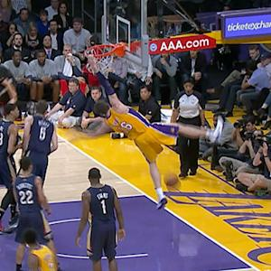 Pau Gasol's dunk fail highlights bloopers of the week