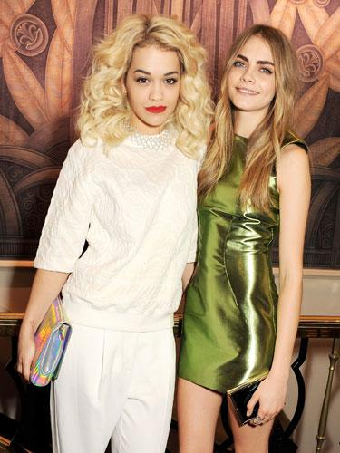 Rita Ora and Cara Delevingne