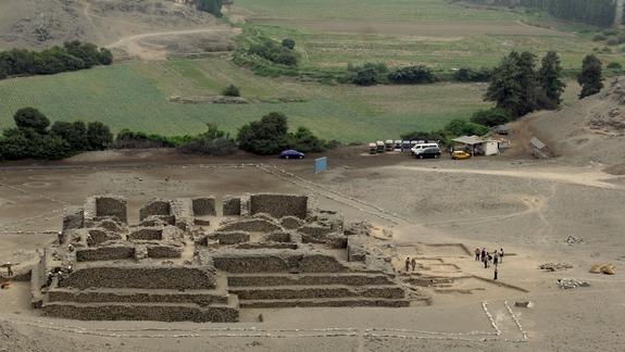 Ancient Temple Discovered in Peru